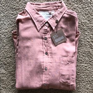 Milos Button up Shirt - Acacia